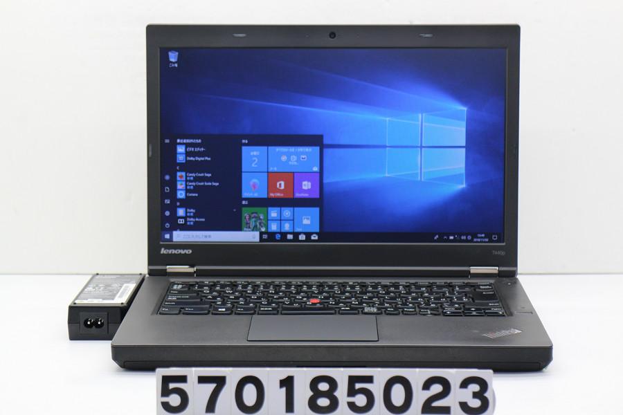 lenovo ThinkPad T440P Core i7 4600M 2.9GHz/4GB/500GB/14W/FWXGA(1366x768)/Win10 「Ctrl」キー破損【中古】【20181106】