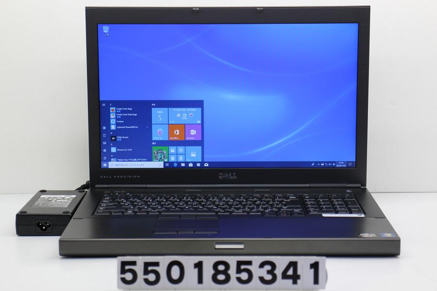 DELL Precision M6600 Core i7 2920XM 2.5GHz/8GB/256GB(SSD)/Multi/17.3W/WXGA++(1600x900)/Win10/Quadro 5010M【中古】【20181106】