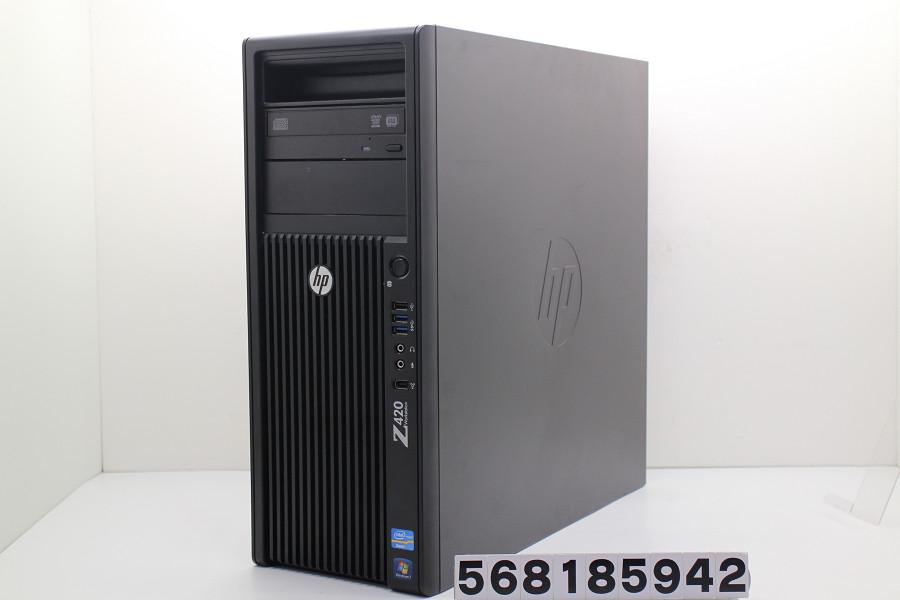 hp Z420 Xeon E5-1660 3.3GHz/16GB/500GB/Multi/Win10/GeForce GTX1050Ti【中古】【20181106】