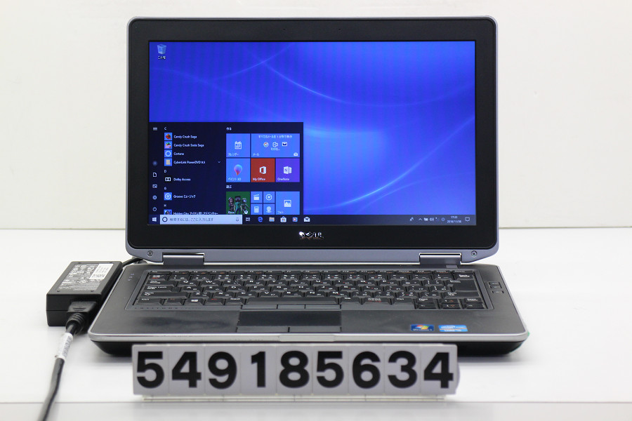 DELL Latitude E6330 Core i5 3340M 2.7GHz/4GB/320GB/Multi/13.3W/FWXGA(1366x768)/Win10 スライドパッド不良【中古】【20181109】