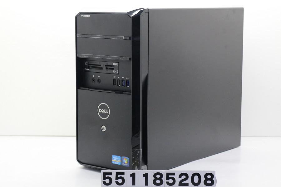 DELL Vostro 470 Core i7 3770 3.4GHz/8GB/1TB/Multi/Win10/GeForce GTX1050Ti【中古】【20181113】
