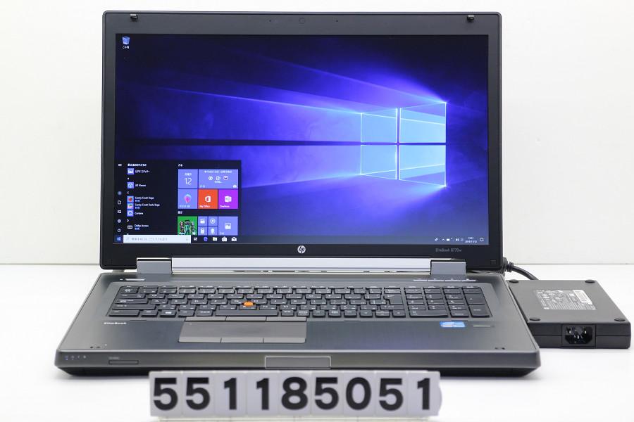 hp EliteBook 8770w Core i5 3360M 2.8GHz/8GB/480GB(SSD)/Multi/17.3W/FHD(1920x1080)/Win10/Quadro K3000M【中古】【20181113】