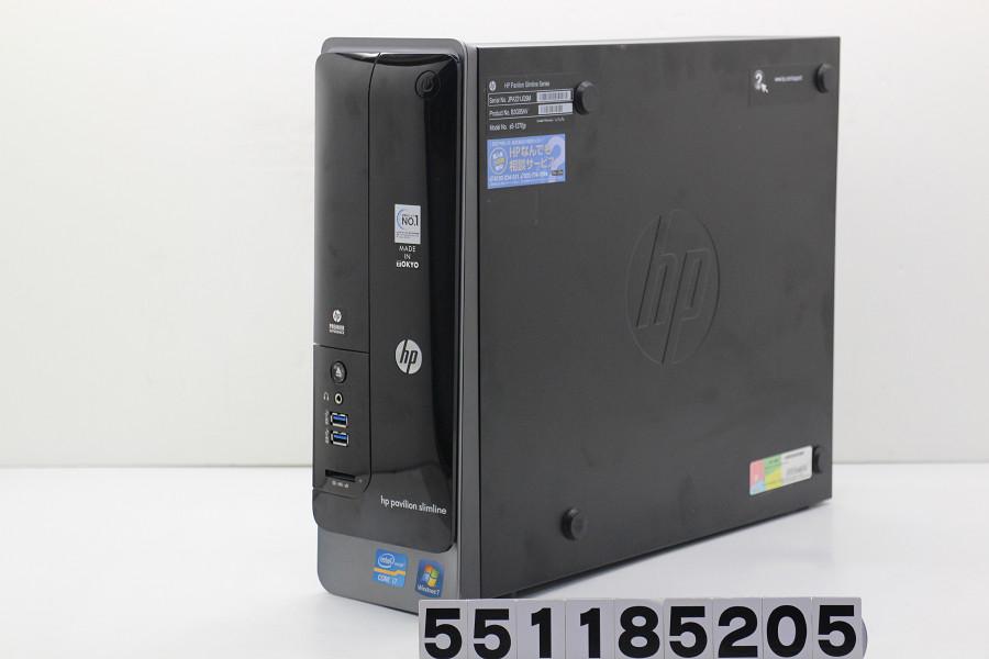 hp Pavilion Slimline s5-1270jp Core i7 3770 3.4GHz/8GB/1TB/Multi/Win10【中古】【20181114】