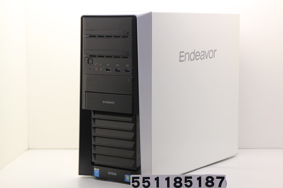 EPSON Endeavor Pro8100 Core i7 5930K 3.5GHz/16GB/512GB(SSD)+500GB/DVD/Win10/GeForce GTX750 背面USB4個不良【中古】【20181115】