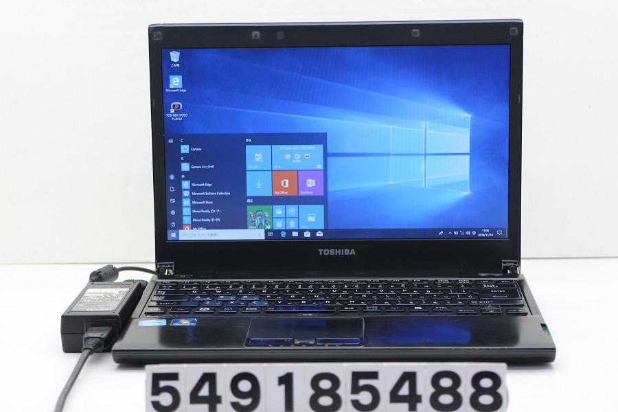 東芝 dynabook R731/E Core i5 2520M 2.5GHz/4GB/250GB/Multi/13.3W/FWXGA(1366x768)/Win10【中古】【20181115】