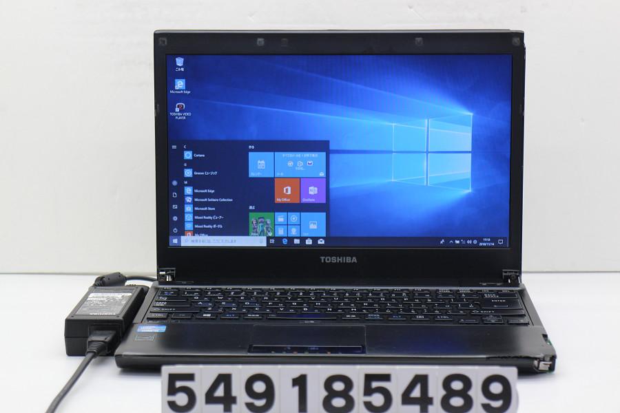 【ジャンク品】東芝 dynabook R732/H Core i5 3340M 2.7GHz/4GB/320GB/Multi/13.3W/FWXGA(1366x768)/Win10 筐体破損【中古】【20181115】