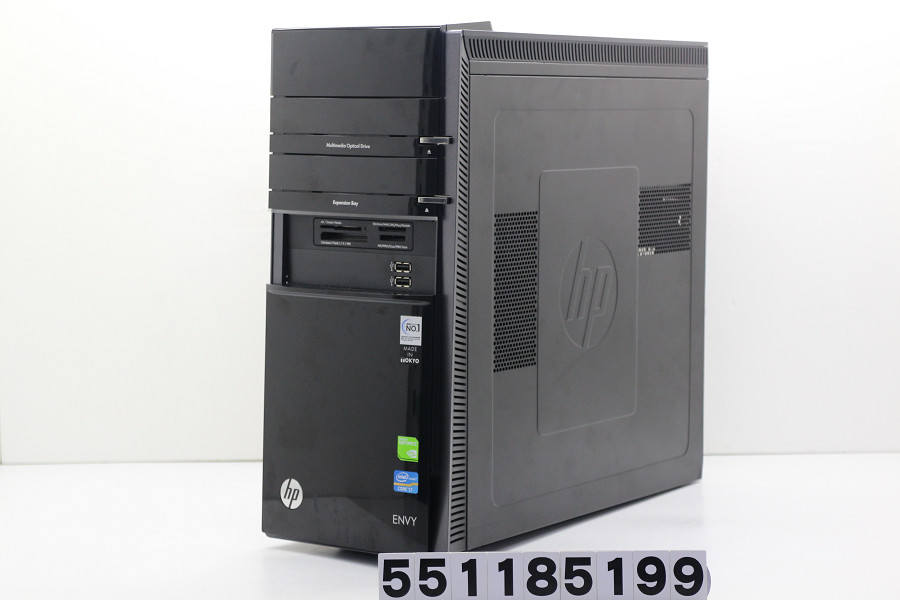 hp ENVY h8-1560jp Core i7 3770K 3.5GHz/16GB/1TB/Blu-ray/Win10/GeForce GTX660【中古】【20181116】