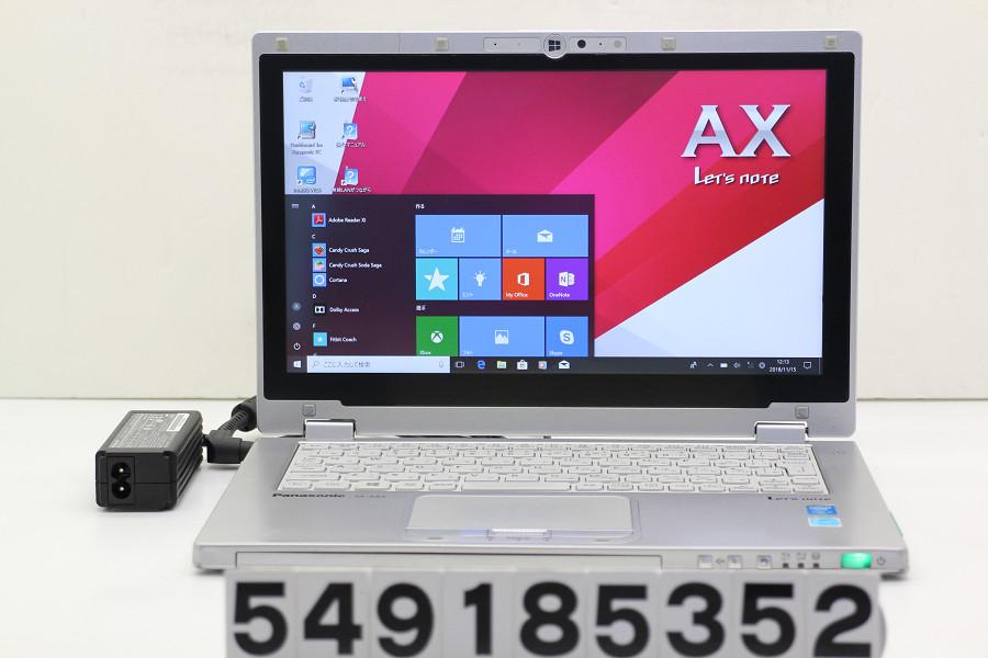Panasonic CF-AX3GDCCS Core i5 4300U 1.9GHz/4GB/128GB(SSD)/11.6W/FHD(1920x1080) タッチパネル/Win10【中古】【20181116】