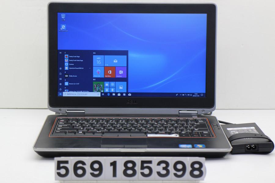 DELL Latitude E6320 Core i5 2540M 2.6GHz/4GB/320GB/Multi/13.3W/FWXGA(1366x768)/Win10【中古】【20181117】