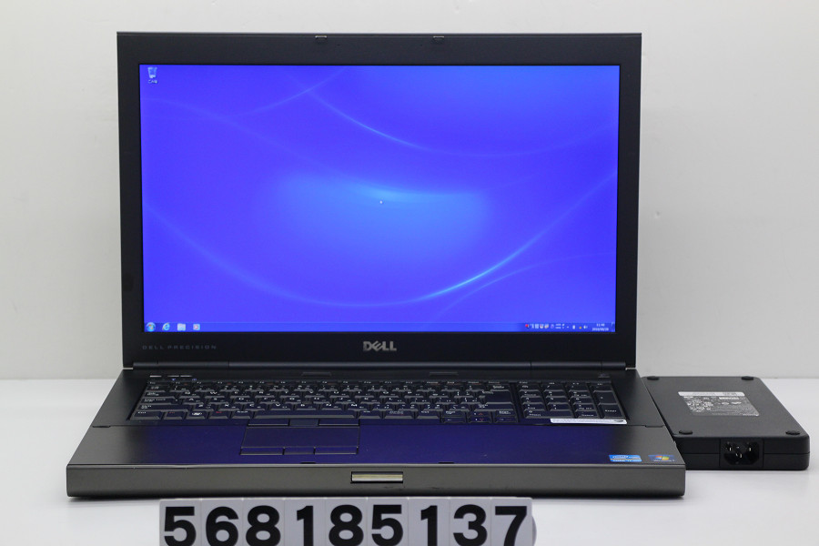 【ジャンク品】DELL Precision M6600 Core i7 2620M 2.7GHz/8GB/128GB(SSD)+500GB/Multi/17.3W/FHD/Win7 グラフィック不良【中古】【20181122】