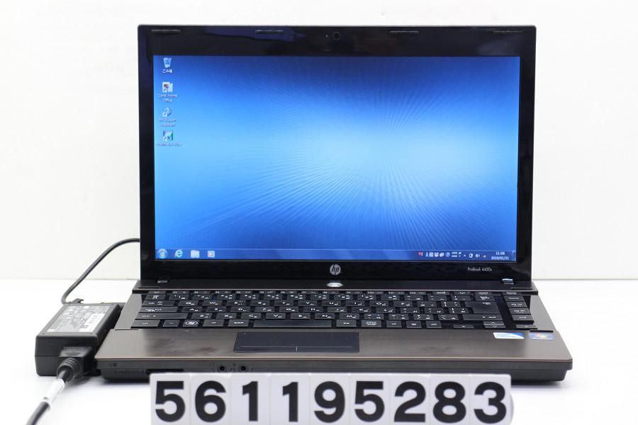 hp ProBook 4420S Celeron P4600 2GHz/4GB/250GB/DVD/14W/FWXGA(1366x768)/Win7 バッテリー完全消耗【中古】【20190201】
