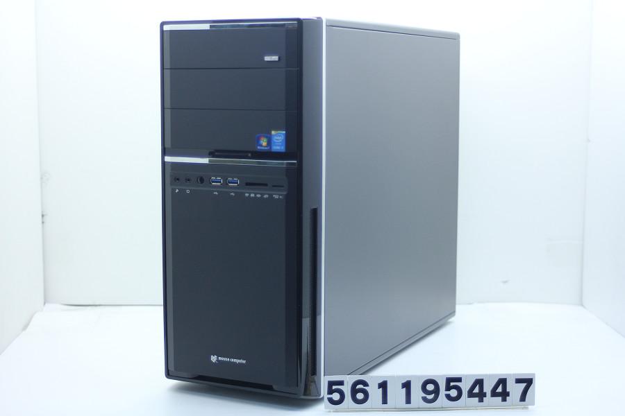mouse computer MDV-GZ7560X2-W7H Core i7 4790 3.6GHz/16GB/128GB(SSD)+2TB/Multi/Win10/GeFroce GTX980 有線LAN不良【中古】【20190205】