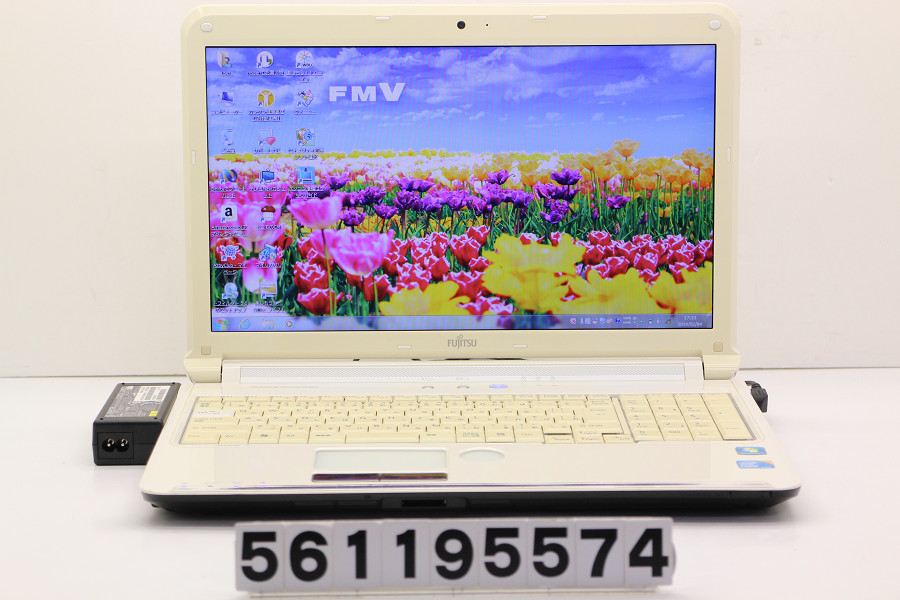富士通 LIFEBOOK AH550/5B Core i5 M560 2.66GHz/4GB/640GB/Blu-ray/15.6W/FWXGA(1366x768)/Win7【中古】【20190205】