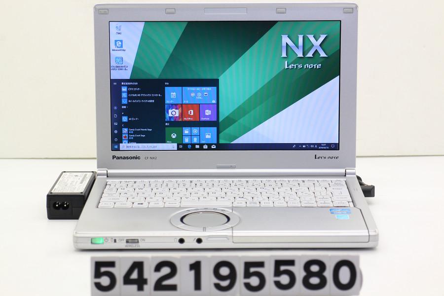 Panasonic CF-NX2RWJCS Core i3 3120M 2.5GHz/4GB/250GB/11.6W/FWXGA(1366x768)/Win10【中古】【20190218】