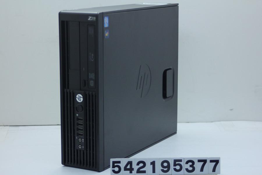 hp Z210 SFF Xeon E3-1225 3.1GHz/8GB/500GB/Blu-ray/RS232C/Win7/Quadro 400【中古】【20190219】