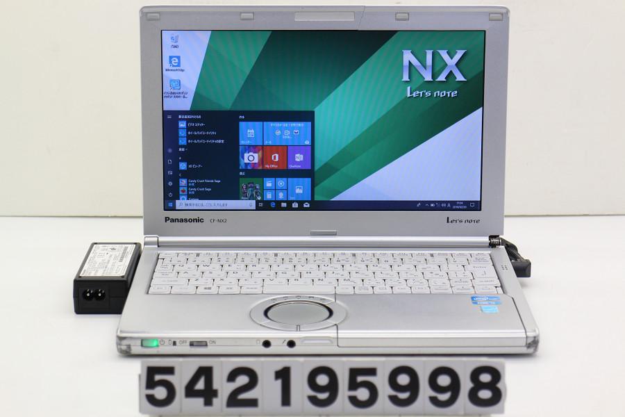 Panasonic CF-NX2RWJCS Core i3 3120M 2.5GHz/4GB/250GB/11.6W/FWXGA(1366x768)/Win10 外装破損【中古】【20190221】