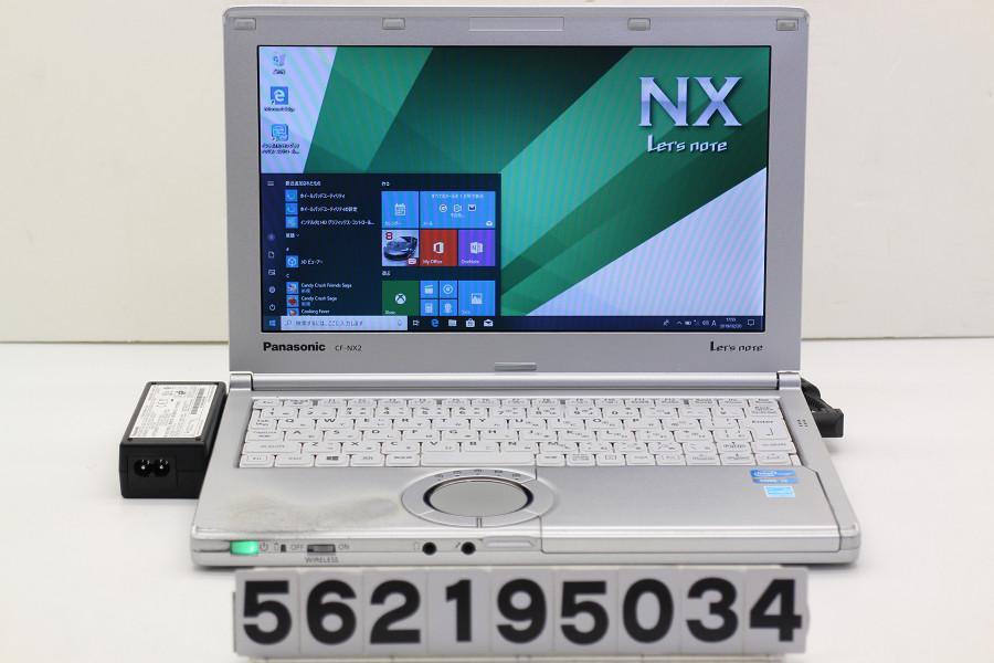 Panasonic CF-NX2RWJCS Core i3 3120M 2.5GHz/4GB/250GB/11.6W/FWXGA(1366x768)/Win10【中古】【20190221】