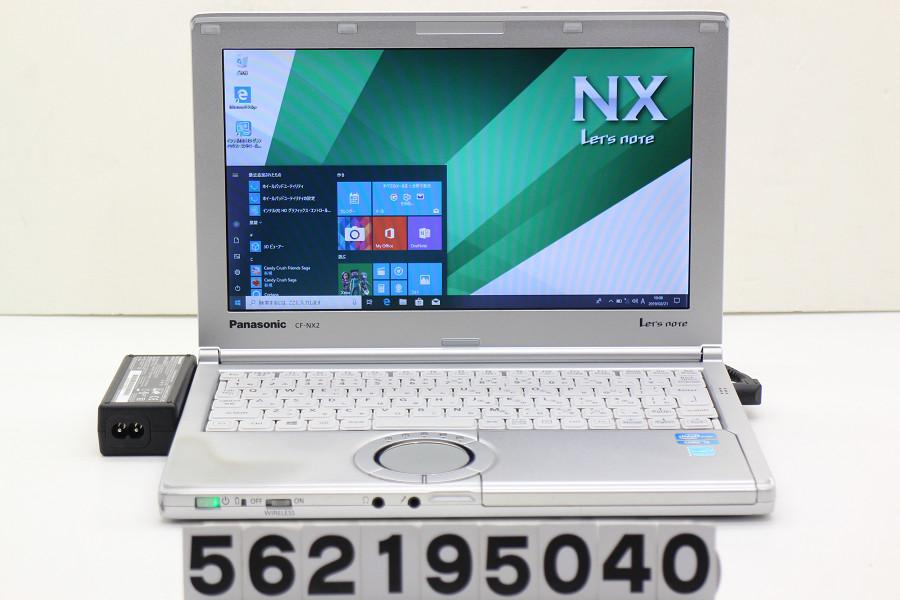 Panasonic CF-NX2RWJCS Core i3 3120M 2.5GHz/4GB/250GB/11.6W/FWXGA(1366x768)/Win10 ACエラー【中古】【20190222】