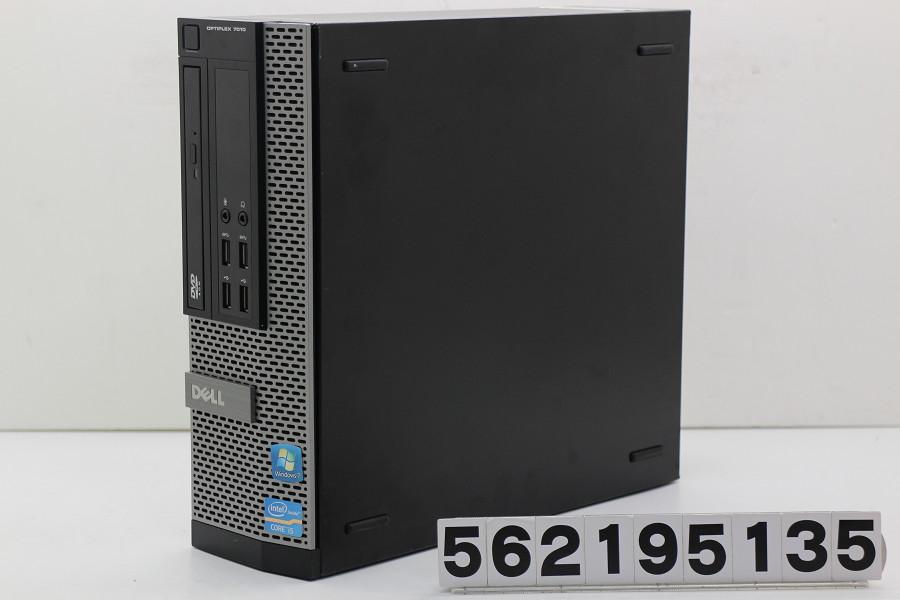 DELL Optiplex 7010 SFF Core i5 3550 3.3GHz/4GB/250GB/DVD/RS232C/Win10【中古】【20190222】