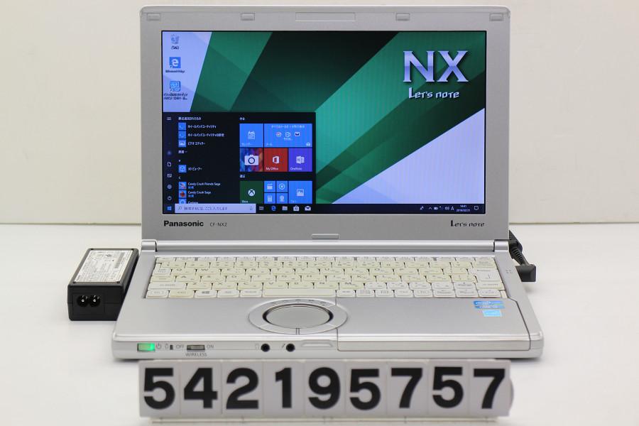Panasonic CF-NX2RWJCS Core i3 3120M 2.5GHz/4GB/250GB/11.6W/FWXGA(1366x768)/Win10 ACエラー キー黄ばみ【中古】【20190222】