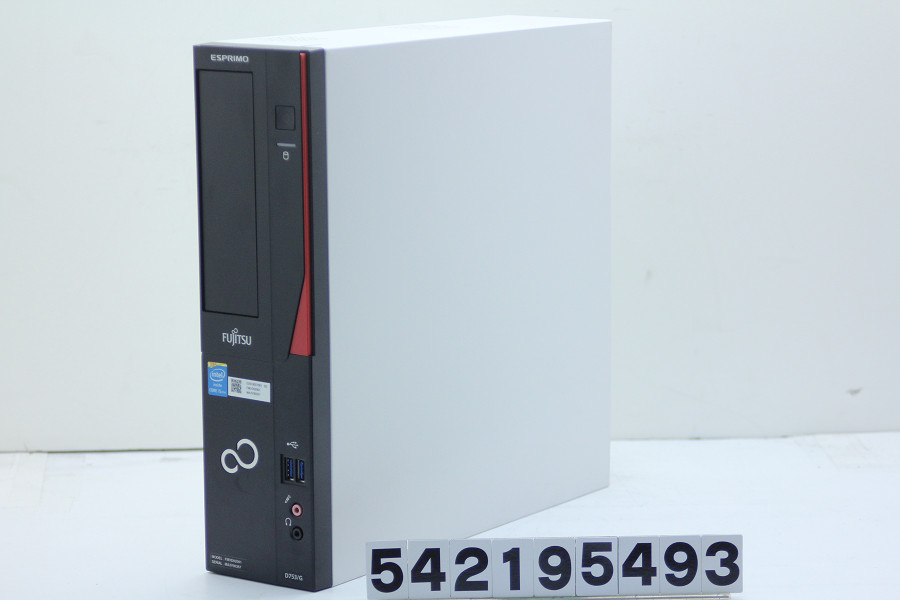 富士通 ESPRIMO D753/G Core i5 4570 3.2GHz/4GB/1TB/RS232C パラレル/Win10【中古】【20190223】