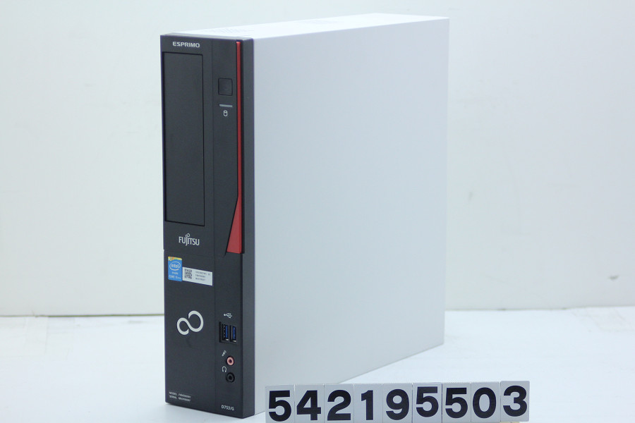 富士通 ESPRIMO D753/G Core i5 4570 3.2GHz/4GB/500GB/RS232C パラレル/Win10【中古】【20190223】