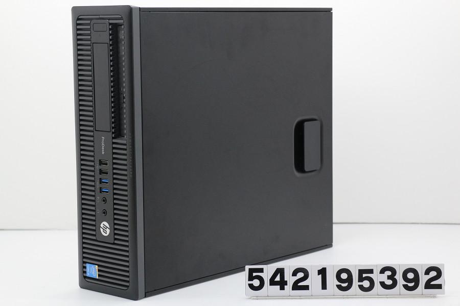 hp ProDesk 600 G1 SFF Core i5 4590 3.3GHz/4GB/500GB/DVD/RS232C/Win7【中古】【20190227】