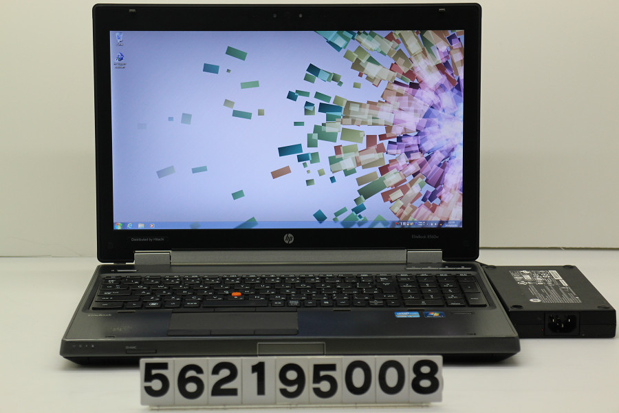 hp EliteBook 8560w Core i5 2520M 2.5GHz/8GB/256GB(SSD)/Multi/15.6W/FHD(1920x1080)/Win7/Quadro 1000M【中古】【20190302】