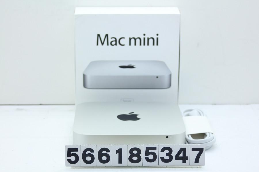 Apple Mac mini Server A1347 Late 2012 Core i7 3720QM 2.6GHz/16GB/256GB(SSD)×2/macOS Sierra10.12.1【中古】【20190306】