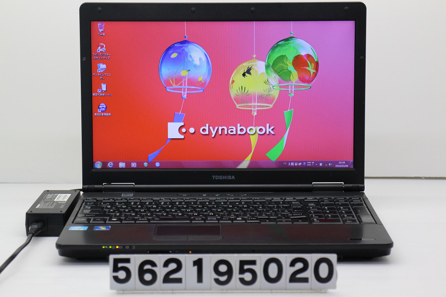 【ジャンク品】東芝 dynabook Satellite B551/E Core i5 2520M 2.5GHz/4GB/250GB/Multi/15.6W/FWXGA/Win7 難あり【中古】【20190307】