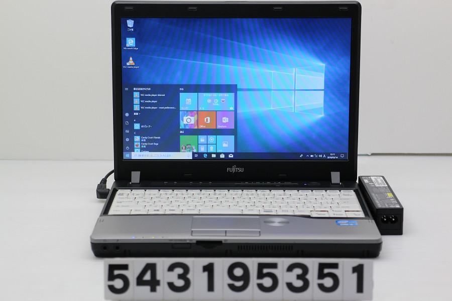 富士通 LIFEBOOK P772/F Core i5 3320M 2.6GHz/4GB/320GB/Multi/12.1W/WXGA(1280x800)/Win10【中古】【20190315】