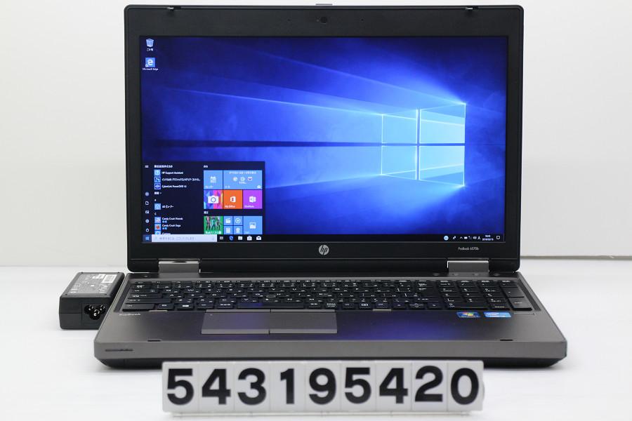 hp ProBook 6570b Core i5 3210M 2.5GHz/4GB/256GB(SSD)/Multi/15.6W/FHD(1920x1080)/RS232C/Win10【中古】【20190319】