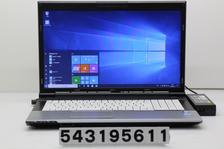 富士通 LIFEBOOK N532/E Core i5 3320M 2.6GHz/4GB/256GB(SSD)+500GB/Multi/17.3W/WXGA++(1600x900)/Win10【中古】【20190319】