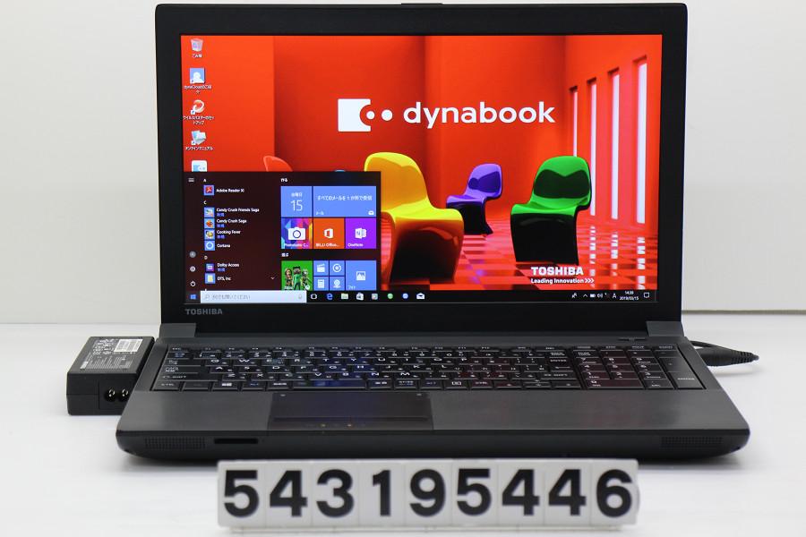 東芝 dynabook Satellite B554/L Core i5 4200M 2.5GHz/4GB/128GB(SSD)/DVD/15.6W/FHD(1920x1080)/Win10 表示難あり【中古】【20190319】