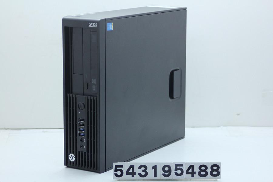 hp Z230 SFF Xeon E3-1271 v3 3.6GHz/4GB/256GB(SSD)/Multi/RS232C/Win10/Quadro K620【中古】【20190320】