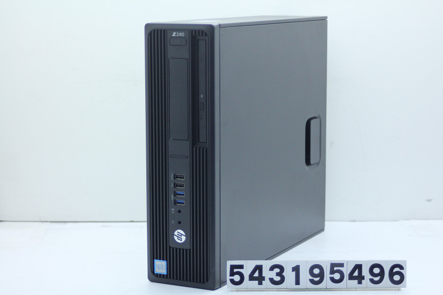 hp Z240 Workstation SFF Xeon E3-1230 v5 3.4GHz/16GB/500GB/Multi/RS232C/Win10/Quadro K1200【中古】【20190320】