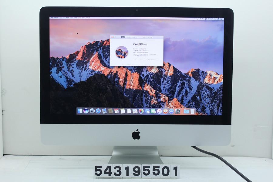 Apple iMac 21.5インチ A1311 Mid 2011 Core i7 2600S 2.8GHz/12GB/1TB/Multi/21.5W/FHD(1920x1080)【中古】【20190320】