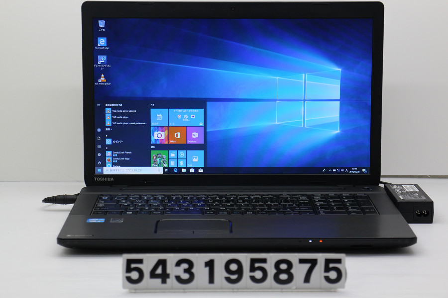 東芝 dynabook Satellite B373/J Core i5 3340M 2.7GHz/4GB/320GB/Multi/17.3W/WXGA++(1600x900)/Win10【中古】【20190322】