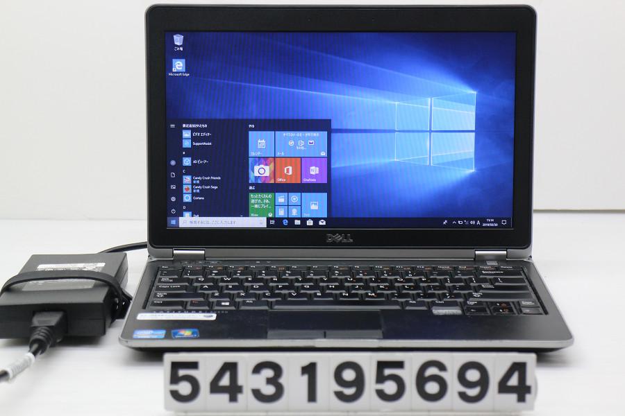DELL Latitude E6230 Core i7 3520M 2.9GHz/16GB/256GB(SSD)/12.5W/FWXGA(1366x768)/Win10 バッテリー完全消耗【中古】【20190322】