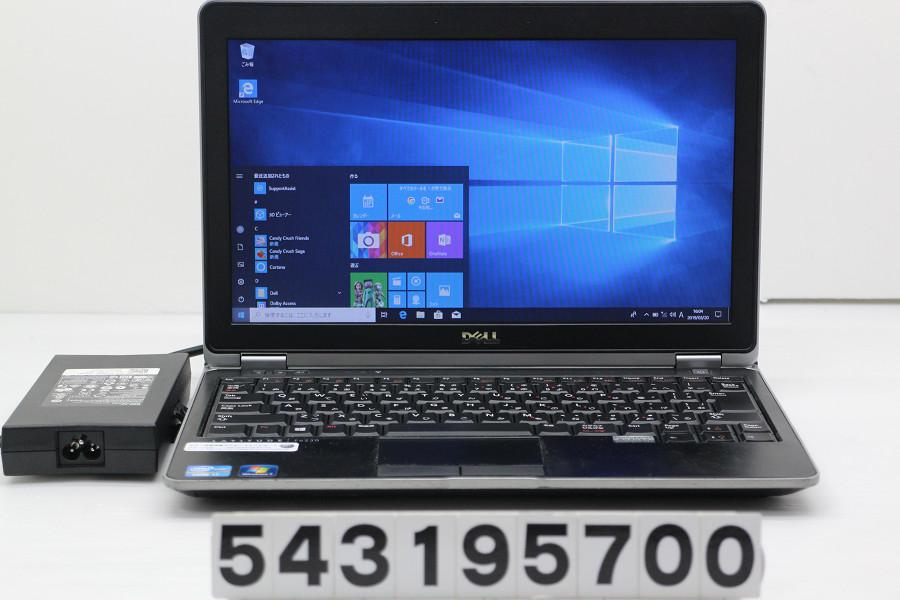 DELL Latitude E6230 Core i7 3520M 2.9GHz/16GB/256GB(SSD)/12.5W/FWXGA(1366x768)/Win10【中古】【20190322】