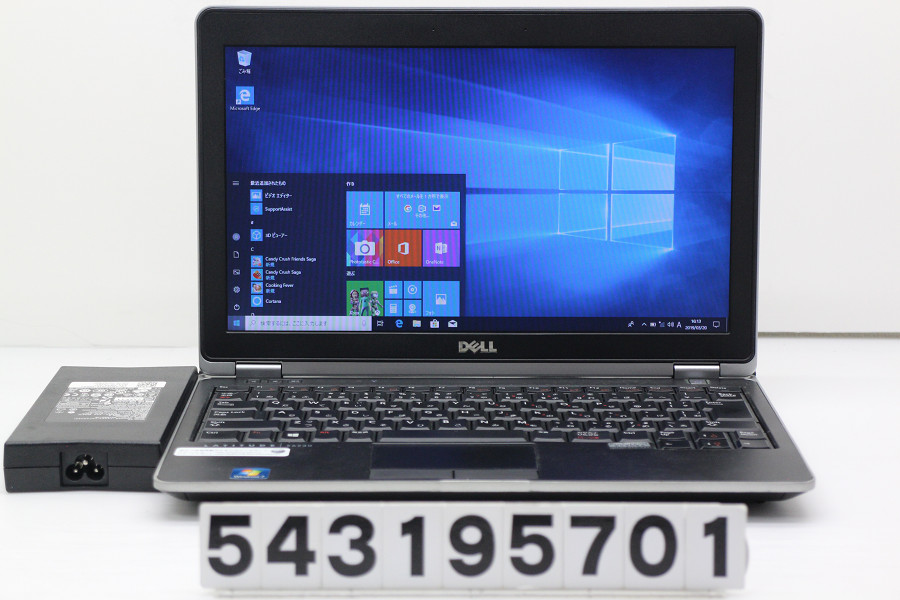 DELL Latitude E6230 Core i7 3520M 2.9GHz/8GB/256GB(SSD)/12.5W/FWXGA(1366x768)/Win10【中古】【20190322】