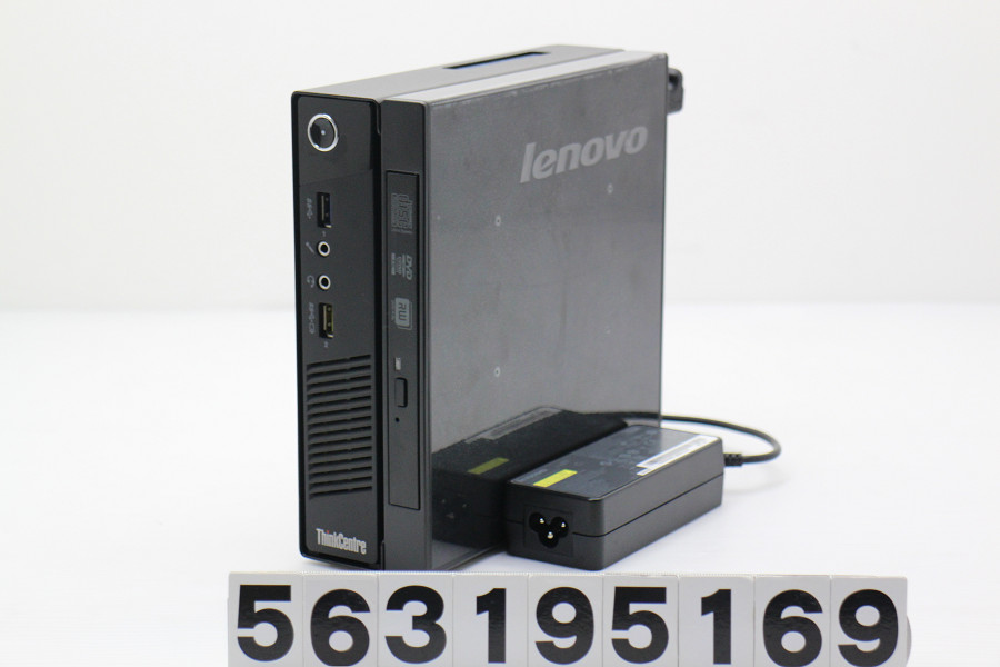 Lenovo ThinkCentre M73 Tiny Core i5 4570T 2.9GHz/4GB/500GB/Multi/Win10【中古】【20190322】