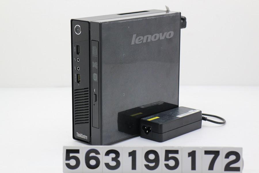 Lenovo ThinkCentre M73 Tiny Core i5 4570T 2.9GHz/4GB/500GB/Multi/Win10 光学ドライブ不良【中古】【20190322】