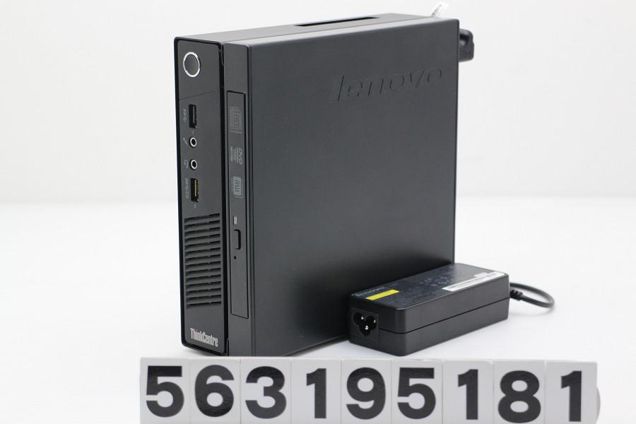 Lenovo ThinkCentre M73 Tiny Core i5 4570T 2.9GHz/4GB/256GB(SSD)/Multi/Win10【中古】【20190322】