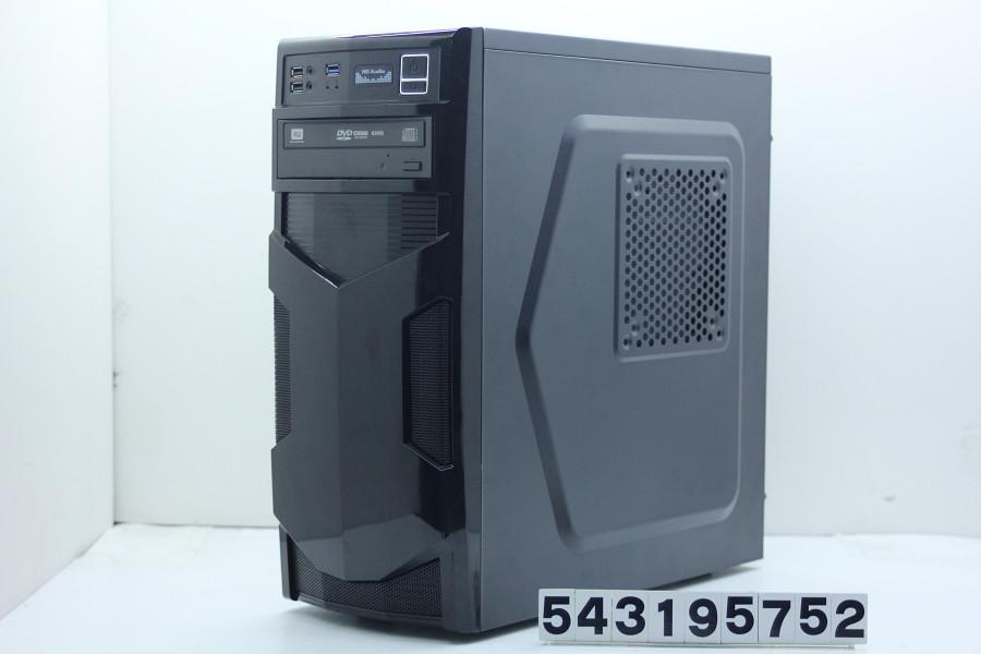 自作PC(B150M-DS3H) Core i7 7700 3.6GHz/16GB/256GB(SSD)+1TB/Multi/Win10/GeForce GTX1050Ti【中古】【20190322】