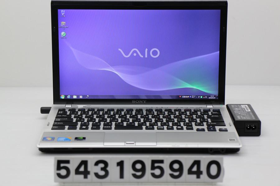 SONY VPCZ14AGJ Core i5 480M 2.66GHz/4GB/320GB/13.1W/WXGA++(1600x900)/Win7/GeForce GT330M【中古】【20190323】