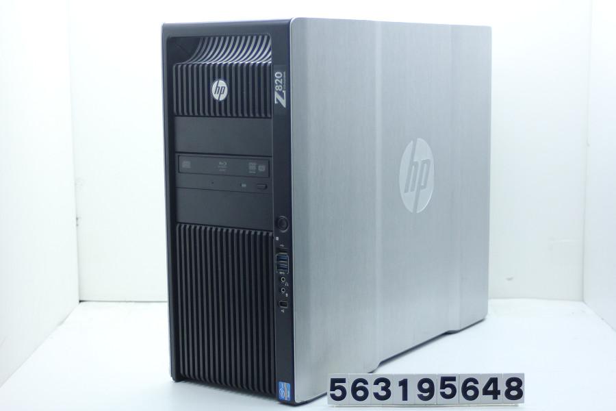 hp Z820 Xeon E5-2687W V2 3.4GHz(2基搭載)/64GB/500GB+2TB/Blu-ray/RS232C/Win10/Quadro K5000【中古】【20190326】