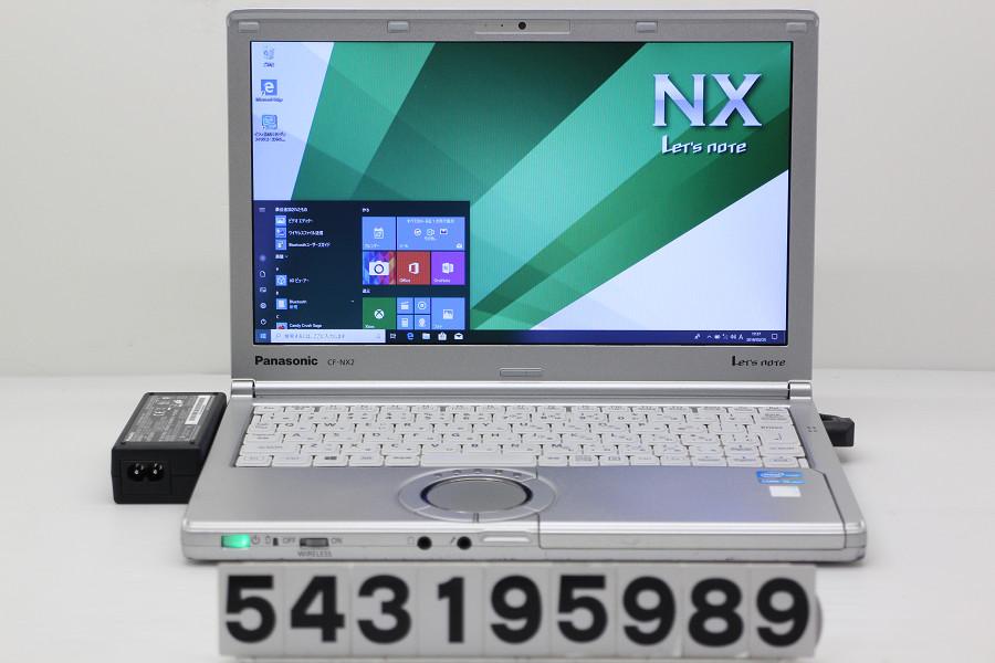 Panasonic CF-NX2ADSCS Core i5 3340M 2.7GHz/4GB/128GB(SSD)/12.1W/WXGA++(1600x900)/Win10【中古】【20190326】