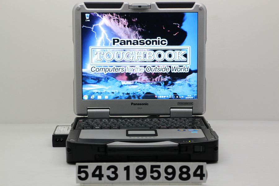 Panasonic CF-31ATB39FJ Core i5 M520 2.4GHz/4GB/160GB/Multi/13.1/XGA タッチパネル/RS232C/Win7 光学不良 ペン欠品【中古】【20190327】