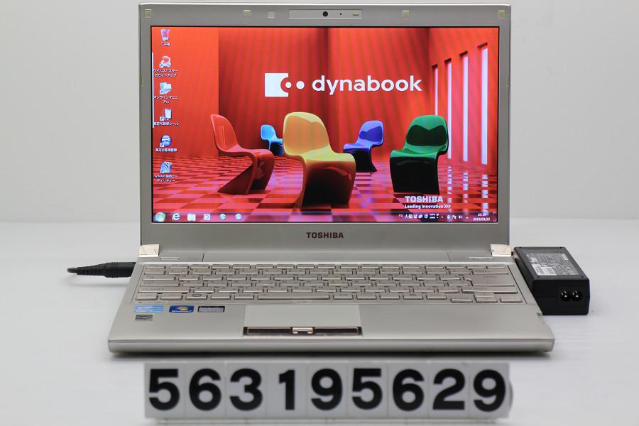 東芝 dynabook R731/39EK Core i7 2640M 2.8GHz/8GB/128GB(SSD)/Multi/13.3W/FWXGA(1366x768)/Win7 光学ドライブ不良【中古】【20190327】